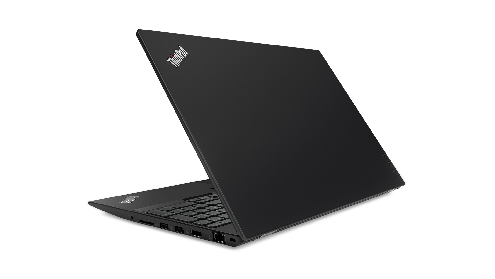 Lenovo ThinkPad P52s Hero Rear facing left
