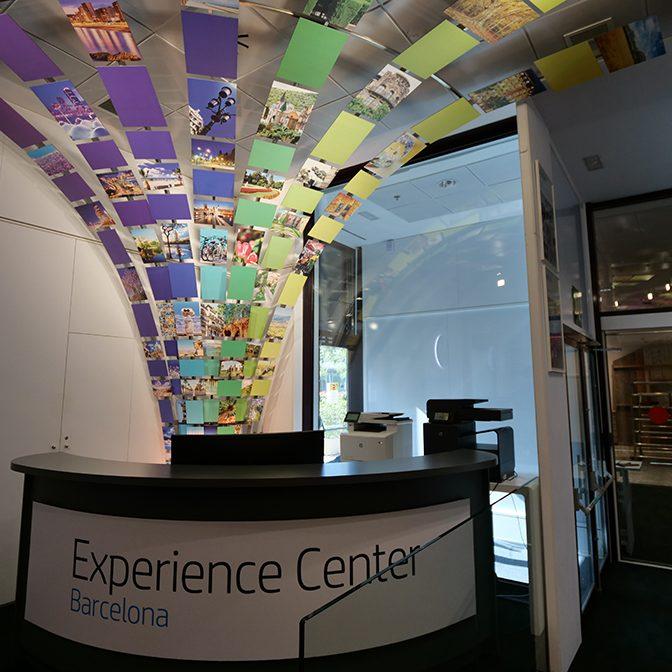 HP Experience Center Barcelona Empfang