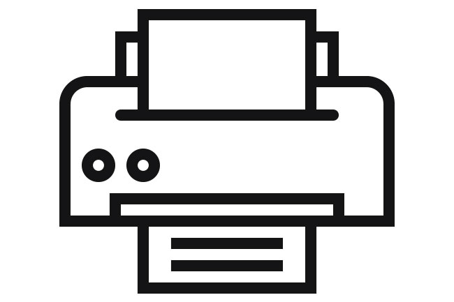 Arbeitsplatzdrucker