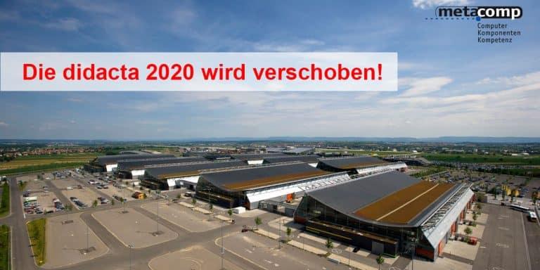 didacta 2020 wird verschoben - Behörden verfügen Veranstaltungsverbot