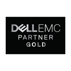 DELLEMC MetaComp Partnerstatus Gold Black