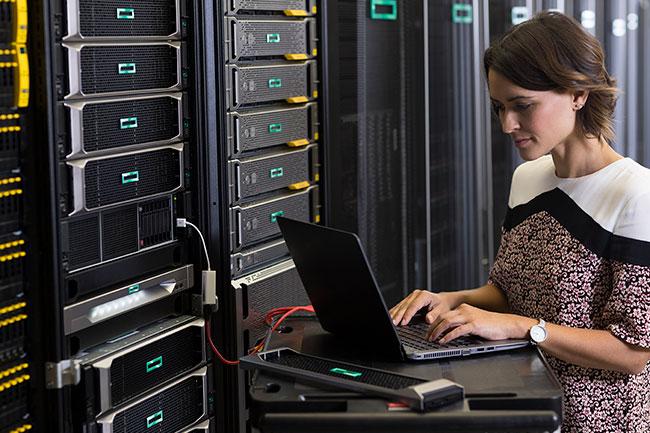 HPE Serverraum