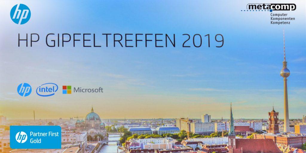 HP Gipfeltreffen in Berlin