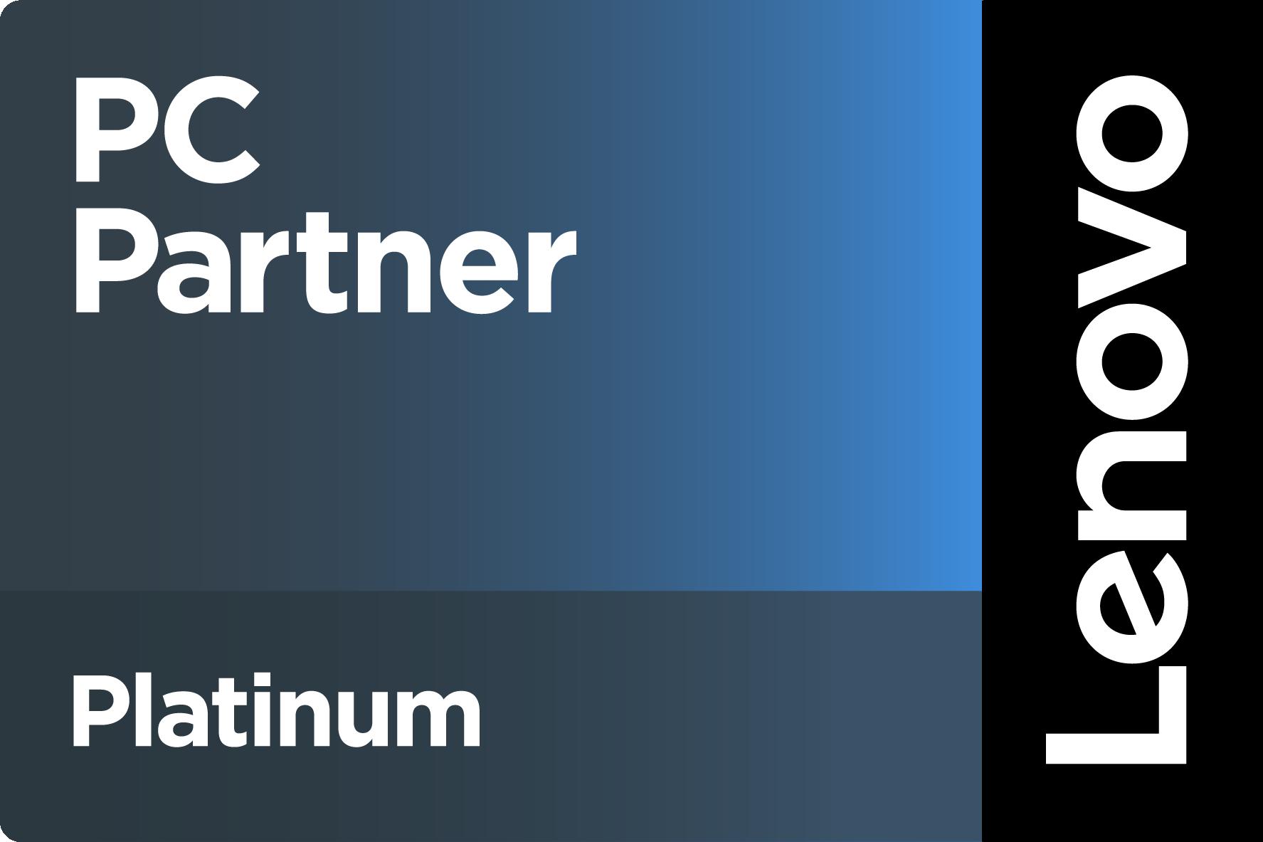 Lenovo Zertifizierung PC Platinum Partner