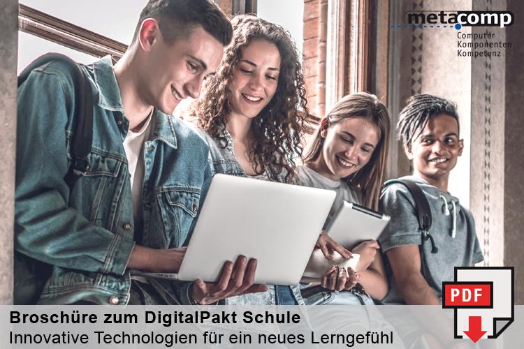 MetaComp Broschuere Digitalpakt Schule
