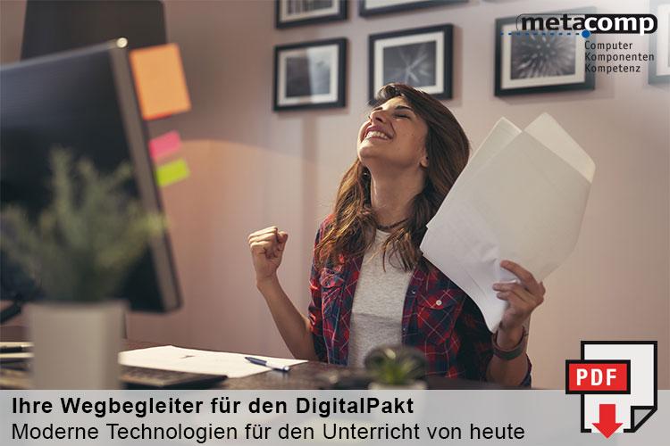 Broschüre: Ihre Wegbegleiter für den DigitalPakt
