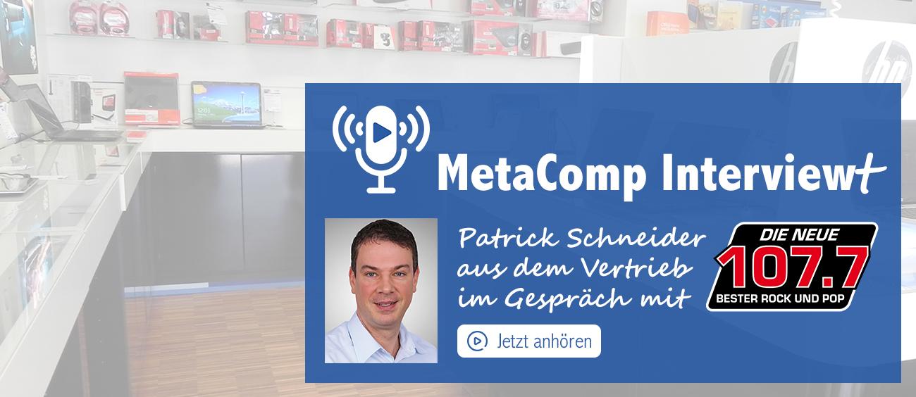 MetaComp Interview Patrick Schneider