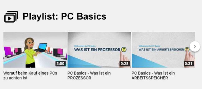PCs und deren Komponenten verstehen