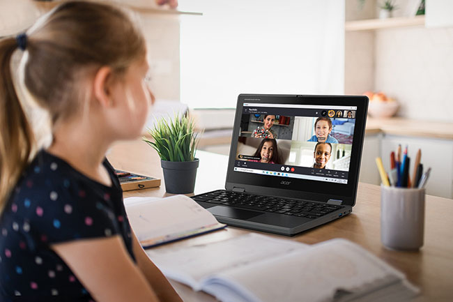 Remote Learning mit Acer Notebooks