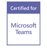Teams Certified Badge
