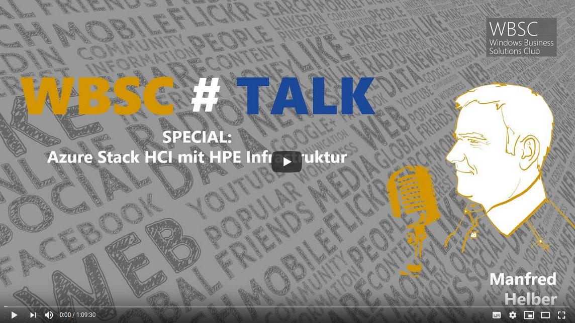 WBSC Talk Microsoft Azure Stack HCI