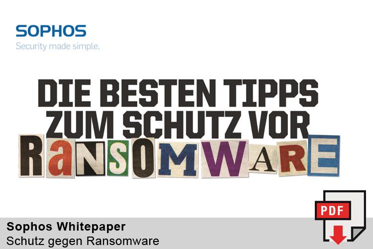 Whitepaper - Die Besten Tipps zum Schutz vor Ransomware