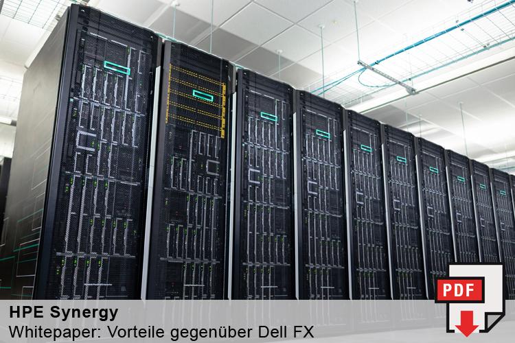 Vorteile von HP Synergy gegenüber Dell FX