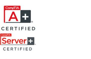 compTIA A-Plu und Server-Certified