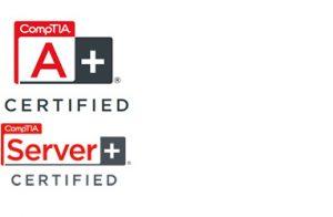 compTIA A-Plu und Server-Certified
